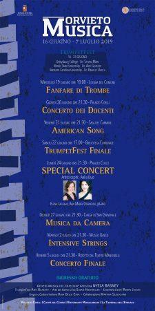 Orvieto Musica 2019 Schedule