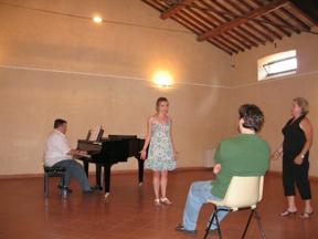 art of song, chamber music festival, orvieto, italy