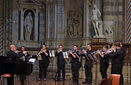 chamber music festival, music workshop, orvieto italy, trumpet coaching, trumpet performances