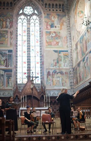 music festival, music performance workshop, orvieto italy, strings, stringed instruments, trumpets, singers