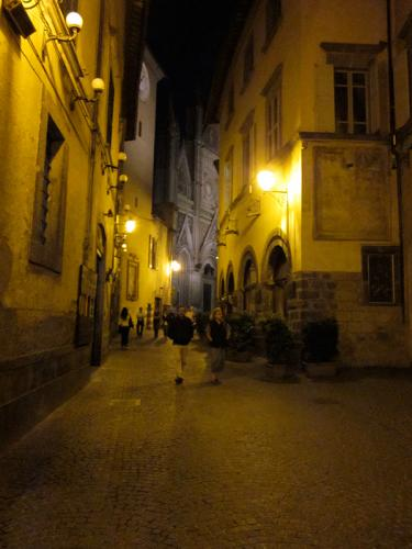Orvieto by night