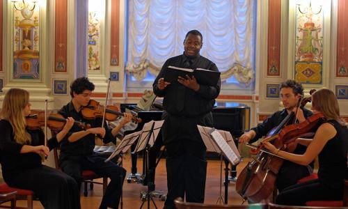 Concert in Ridotto of Teatro Mancinelli
