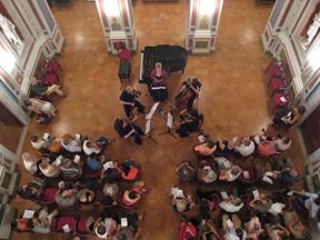 intensive strings, chamber music festival, orvieto, italy