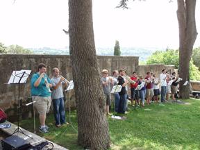 trumpetfest, chamber music festival, orvieto, italy